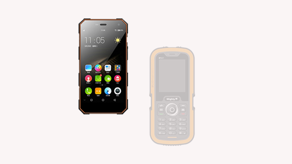 LM129- RUGGED FEATURE PHONE & FREEDOM ANDROID V 5.1